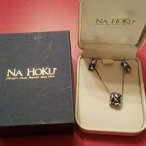 Na Hoku dolphin necklace and earrings